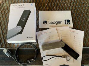 Ledger Nano X In the box
