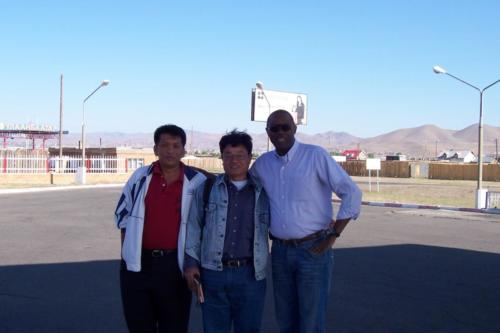 Thai Coworkers in Mongolia (1)